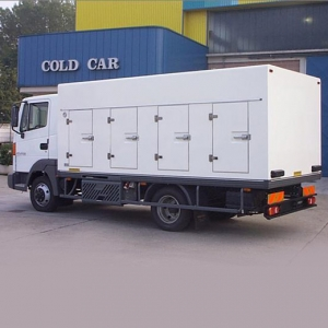 Cámara refrigerada COLD CAR Modelo A4250 8SP BT